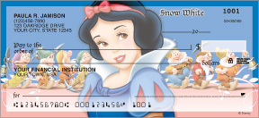 Snow White & The Seven Dwarfs Personal Checks - 8 images