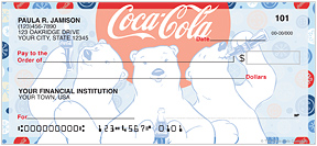 Coca-Cola Polar Bears Checks