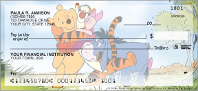 Winnie the Pooh Adventures Personal Checks - 4 scenes