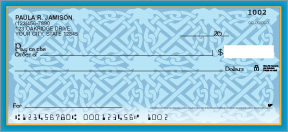 Celtic Patterns Personal Checks
