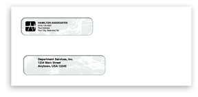 Self-Seal Laser Business Envelopes - Peachtree