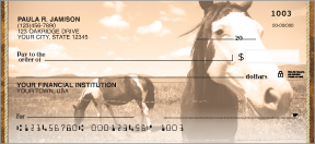 Horse Country Personal Checks - 4 scenes