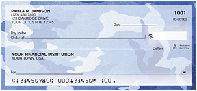Camo Personal Checks - 4 colors