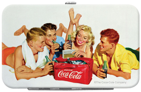 Coca-Cola Summer Beach Credit Card/ID Holder