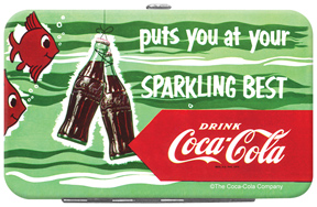 Coca-Cola Sparkling Credit Card/ID Holder