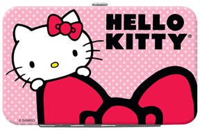 Hello Kitty� with Bow Credit Card/ID Holder