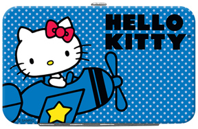 Hello Kitty� in Airplane Credit Card/ID Holder