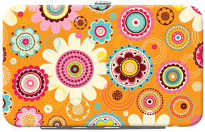 Pop Floral Credit Card/ID Holder