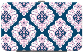 Preppy Sweet Damask Credit Card/ID Holder