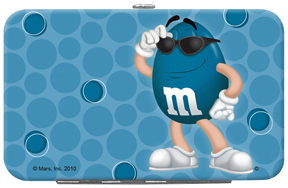 Blue M&M'S Credit Card/ID Holder