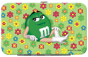 Green M&M'S Credit Card/ID Holder