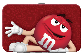 Red M&M'S Credit Card/ID Holder