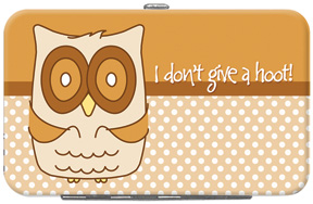 Give A Hoot Credit Card/ID Holder