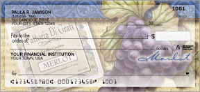 Fine Wine Personal Checks - 4 images