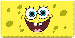 SpongeBob Best Episodes Leather Checkbook Cover