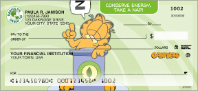 Garfield Go Green Personal Checks