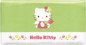 Hello Kitty Blooms Leather Cover