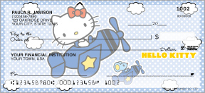 Hello Kitty Personal Checks - 4 scenes