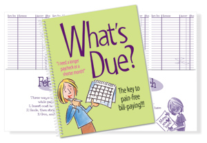 Humor What's Due Bill Organizer