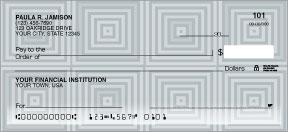 Midtown Personal Checks - 4 colors