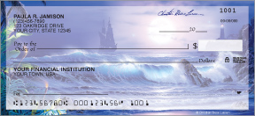 Splendid Shores Personal Checks - 8 images