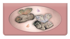 Anne Geddes Fairies Leather Cover