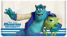 Monsters University Leather Cover