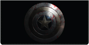 Captain America Leather Cover