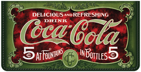 Coca-Cola Retro Signs Cover