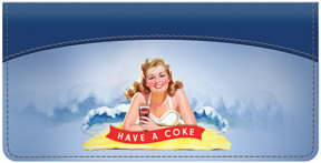 Coca-Cola Girls Have A Coke Checkbook Cover