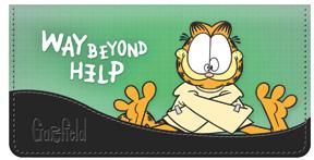 Garfield Attitude Leather Cover