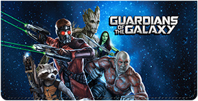 Guardians of the Galaxy Leather Cover