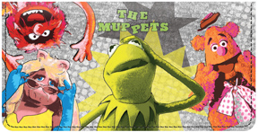 The Muppets Canvas Cover