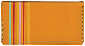 Sassy Stripes Leather Cover