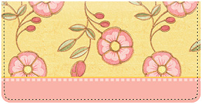 Mary Engelbreit Floral Leather Cover