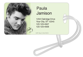Elvis™ Portrait 4 Luggage Tag