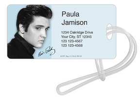 Elvis Portrait 5 Luggage Tag