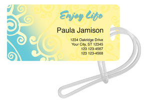 Enjoy Life Luggage Tag