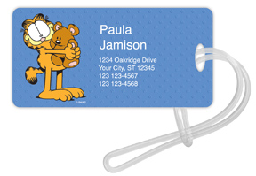 Garfield and Pooky Luggage Tags