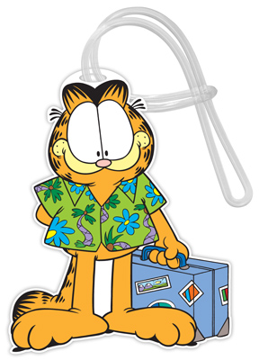 Garfield Travel Luggage Tags