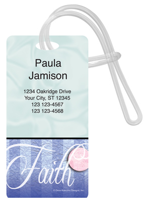 Faith Luggage Tag