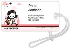 Smirk Jetsetter I Luggage Tags