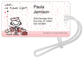 Smirk Travel Light Luggage Tags