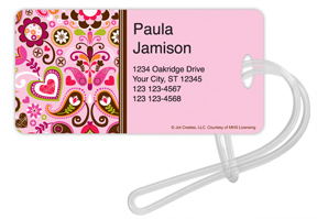 Dutch Gardens Luggage Tags