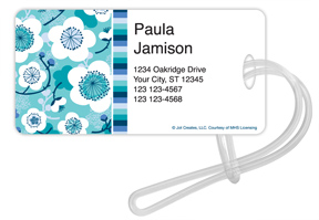 Underwater Blossoms Luggage Tags
