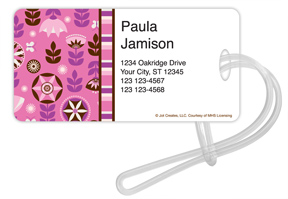Izzy Floral Luggage Tags