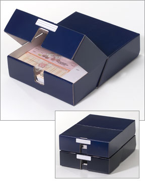 Laser Check Storage Box