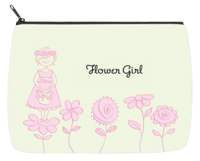 Flower Girl Flowers Bridal Bag - Large
