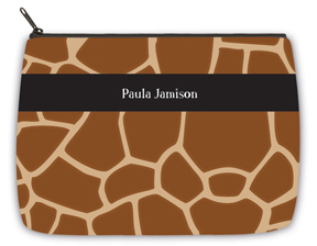 Giraffe Large Makeup Bag