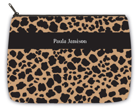 Leopard Large Makeup Bag